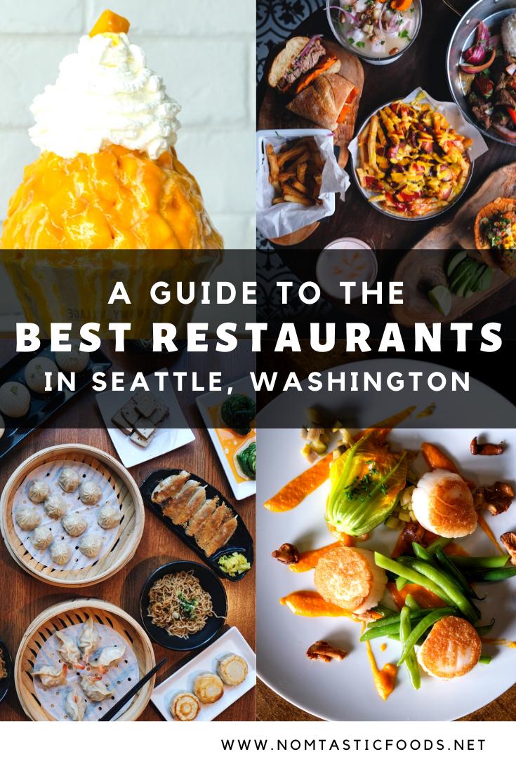 Best Restaurants In Seattle Washington In 2020 Travel Food Foodie Travel Delicious Destinations