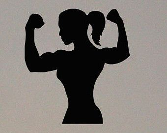 Crossfit Woman Silhouette | www.pixshark.com - Images ...