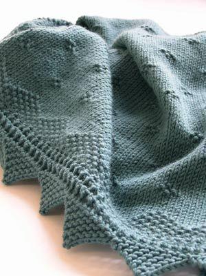 Debbie Bliss Baby Shawl/Blanket by ameliajjones, via ...