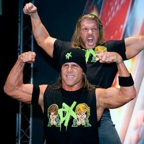 These two dgeneration x make my life whole xxxxxxxx Shawn michaels triple h dx for life xxx