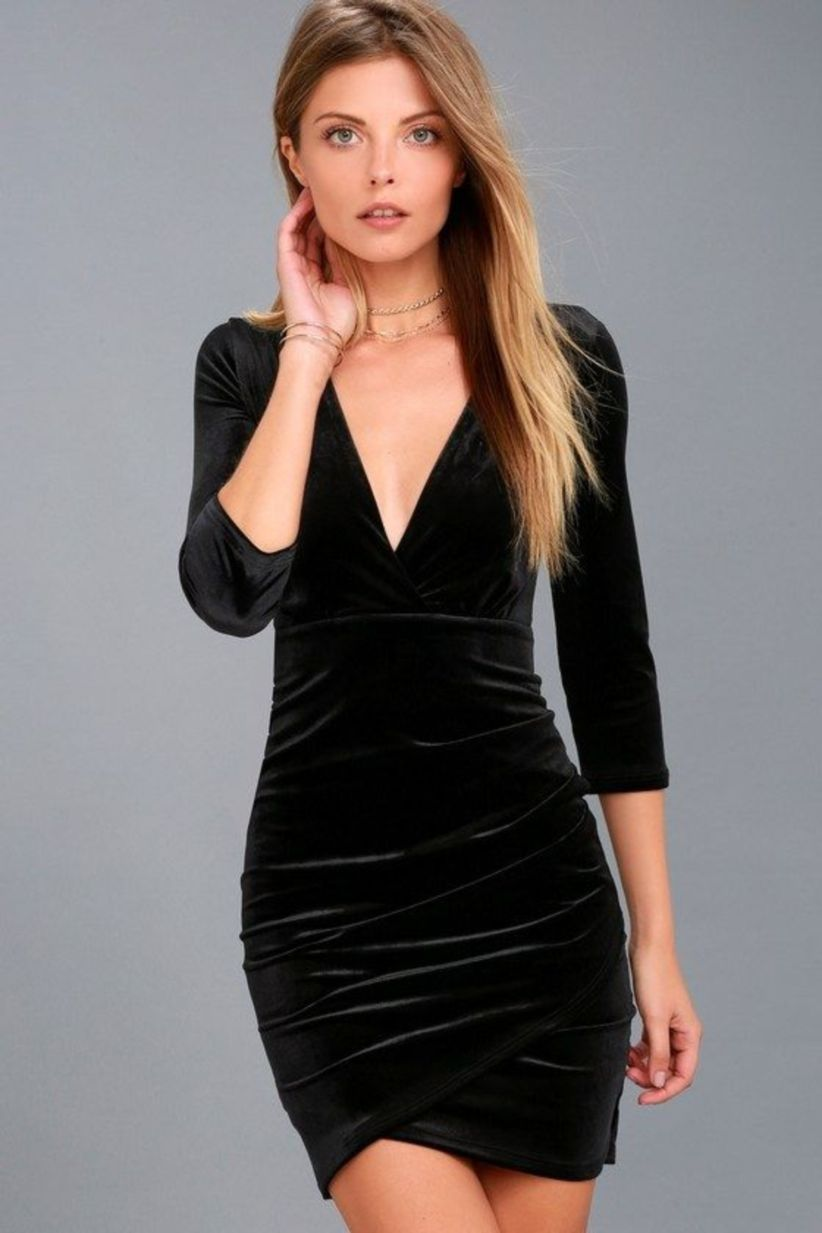 ... Little Black Dress in the Latest Style. awesome 50 Stunning Party Outfit  Ideas For Women http   viscawedding.com  7111161b6