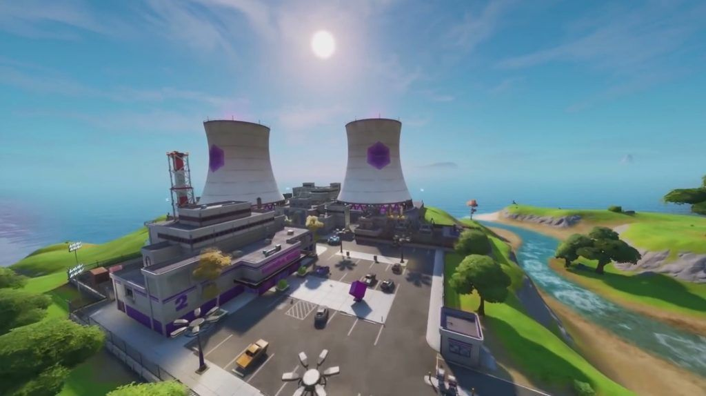 Location Spotlight Steamy Stacks Want An In Depth Look At Some Of The Landing Spots Around The Fortnite Map Today Were Heading Ove Fortnite Ziplining Steamy