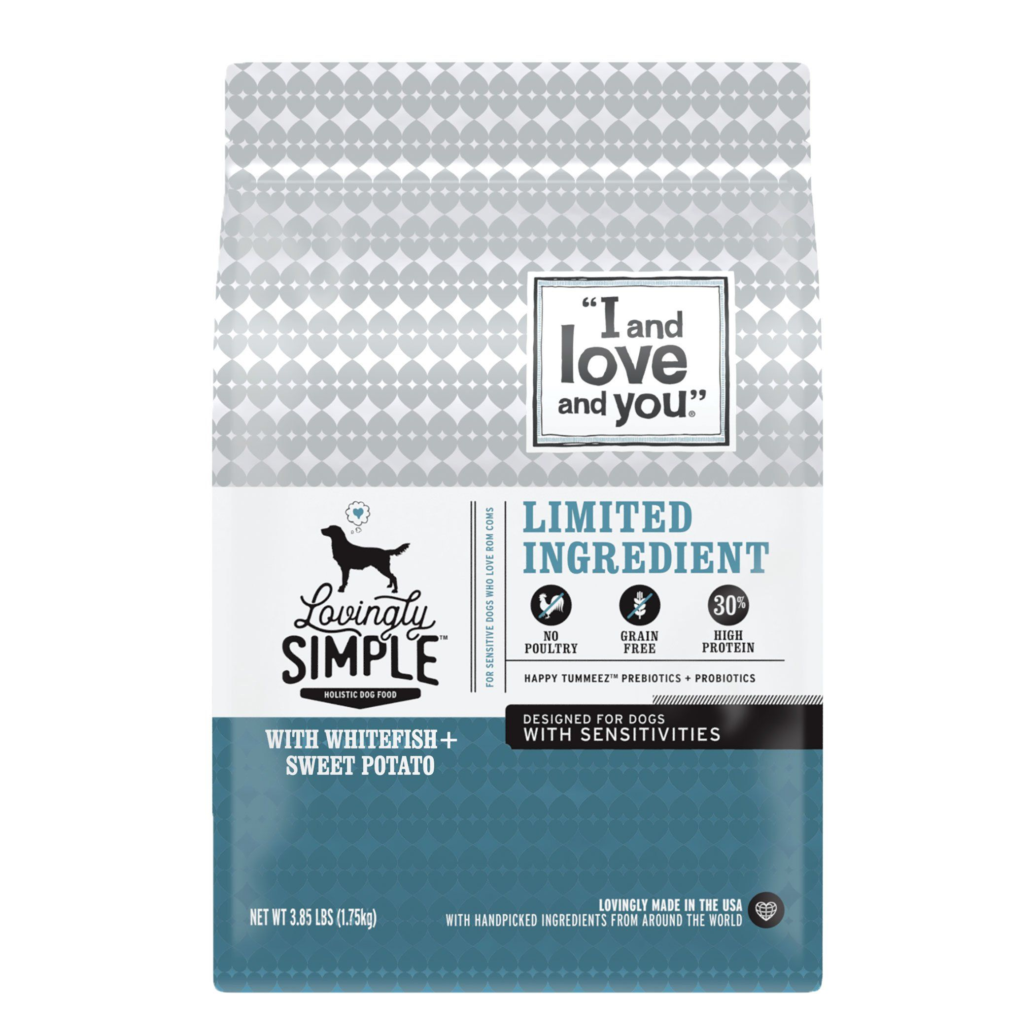 I and love and you lovingly simple limited ingredient
