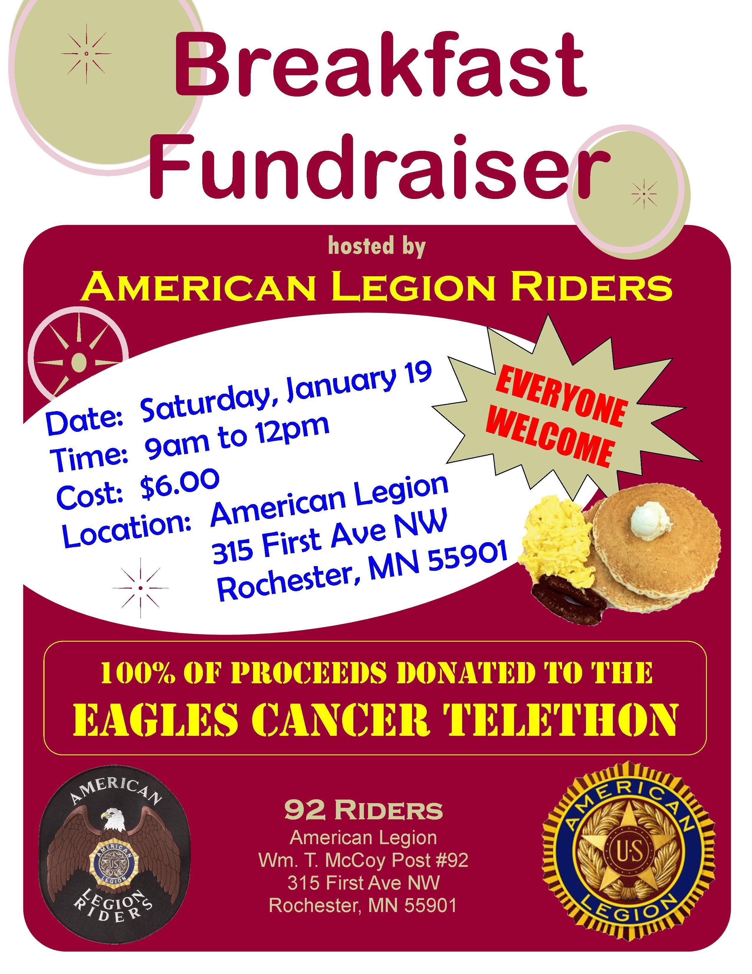american legion breakfast fundraiser | american legion fundraiser