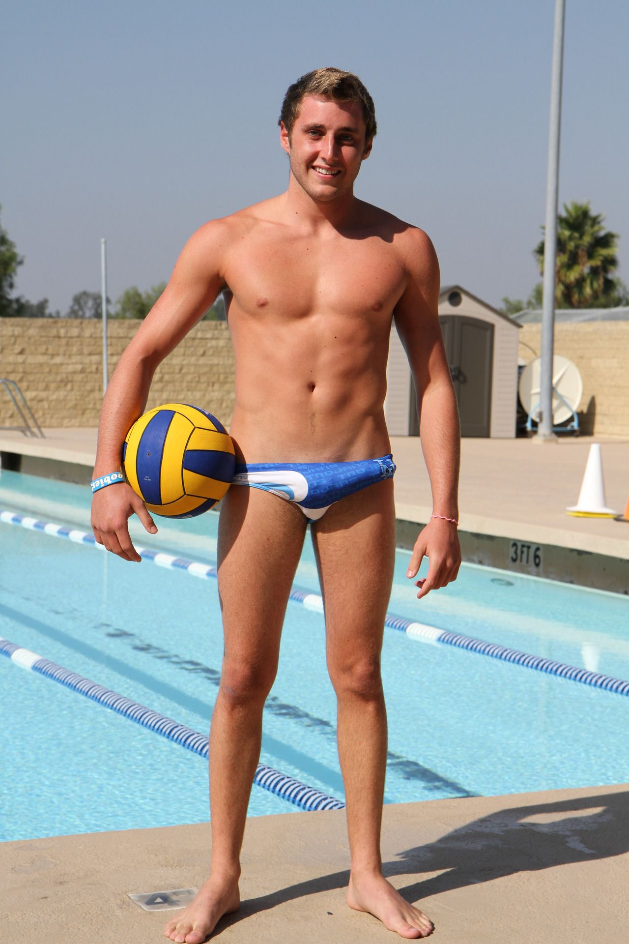 Embarrassing Boner During Waterpolo Team Photoshoot  No -1391