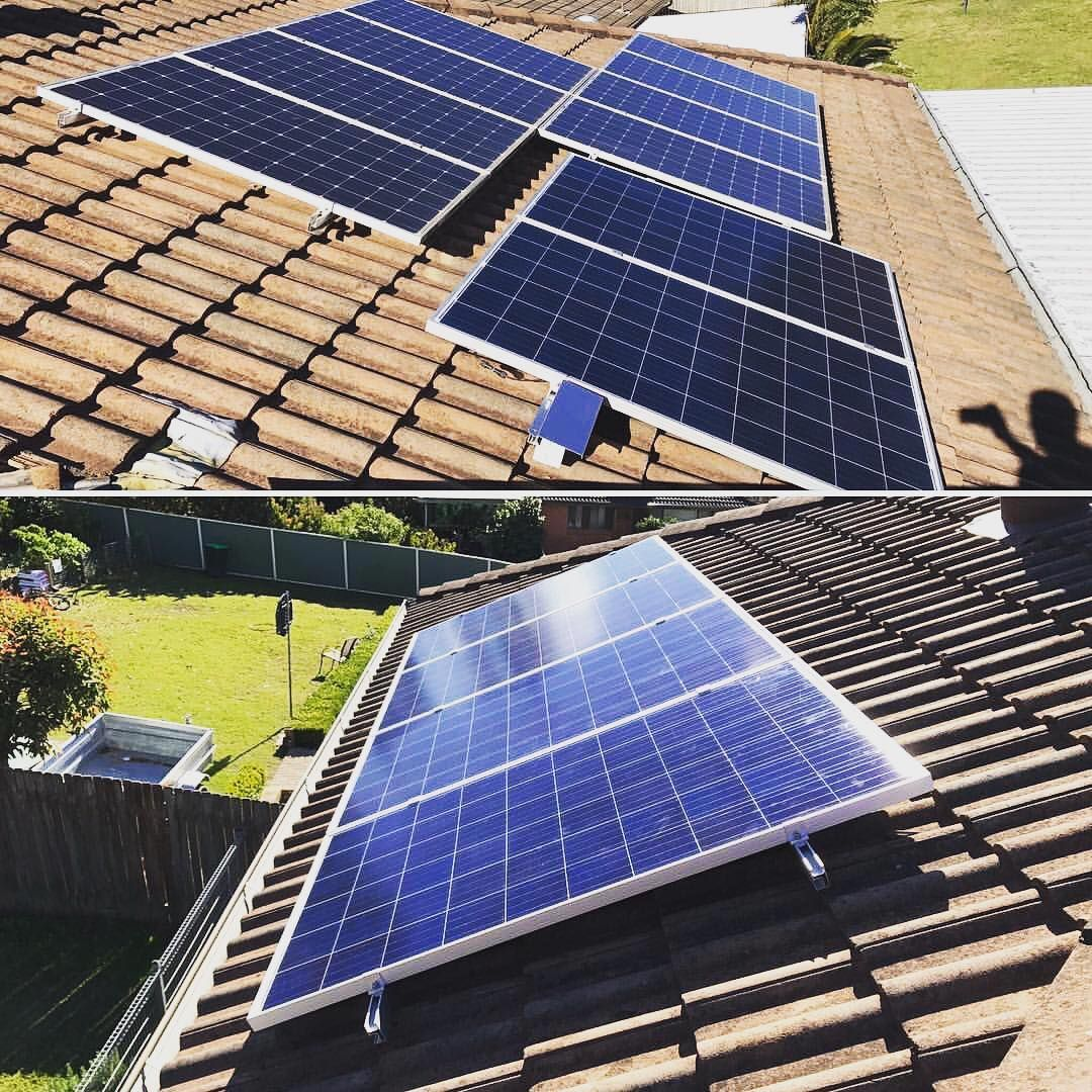 1 5kw Solar System Added To A Existing 2kw Catching That Extra Sun Shine Is What Its All About Solar Pv Greenenergy Renewableen Energia Solar Por Do Sol