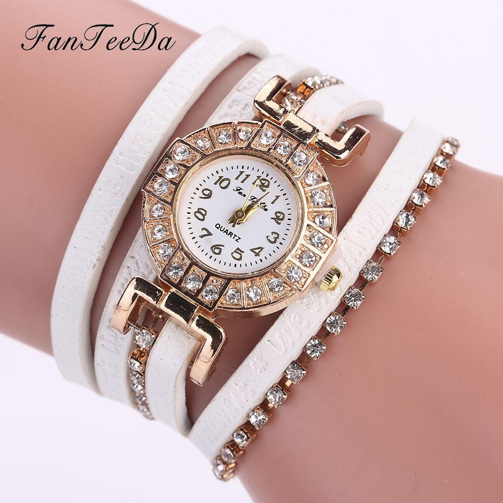 Click to Buy    FanTeeDa Brand Women Bracelet Watch High Quality ... d4eb53c4ef62