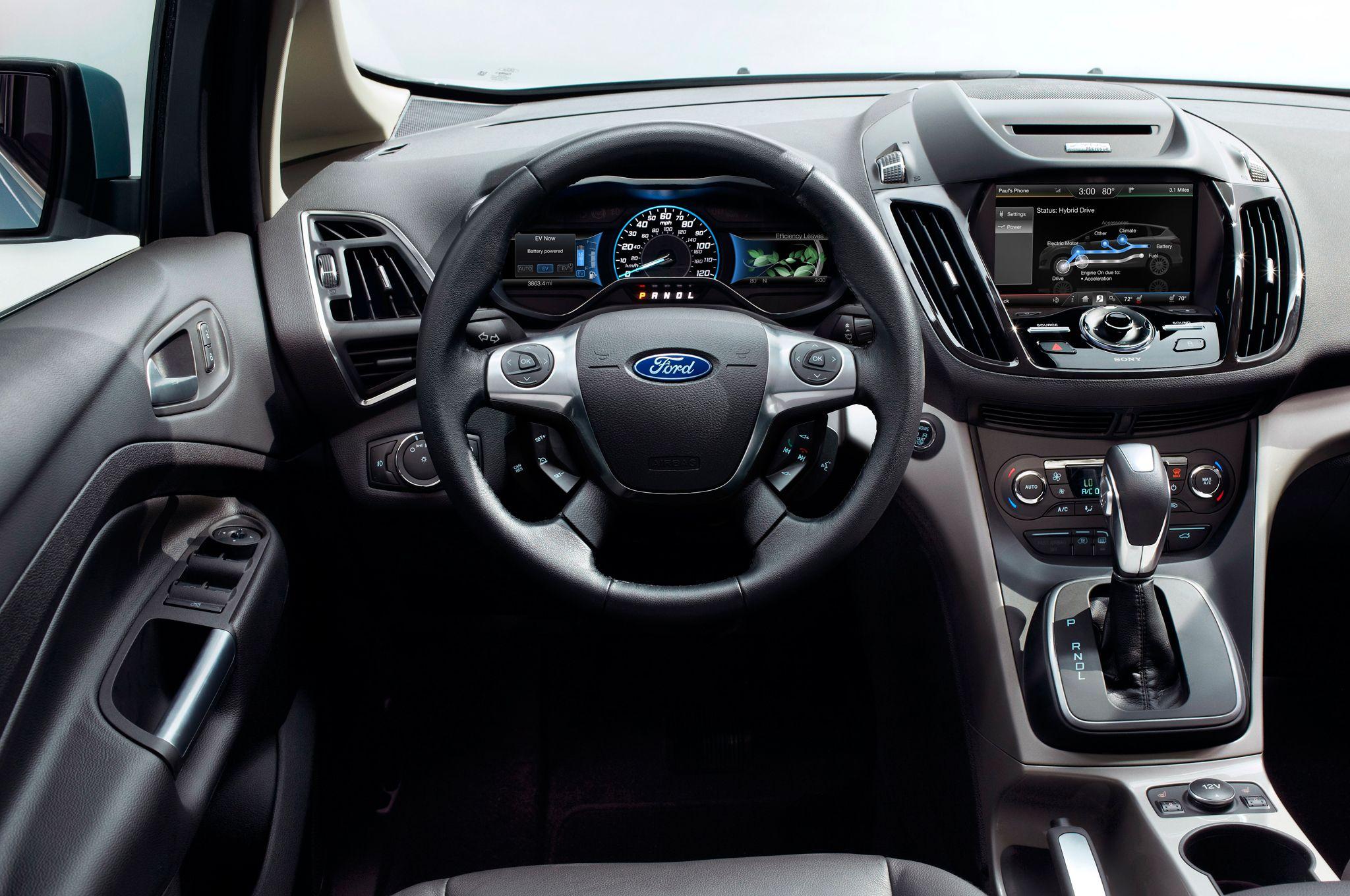 Ford c max energi interior