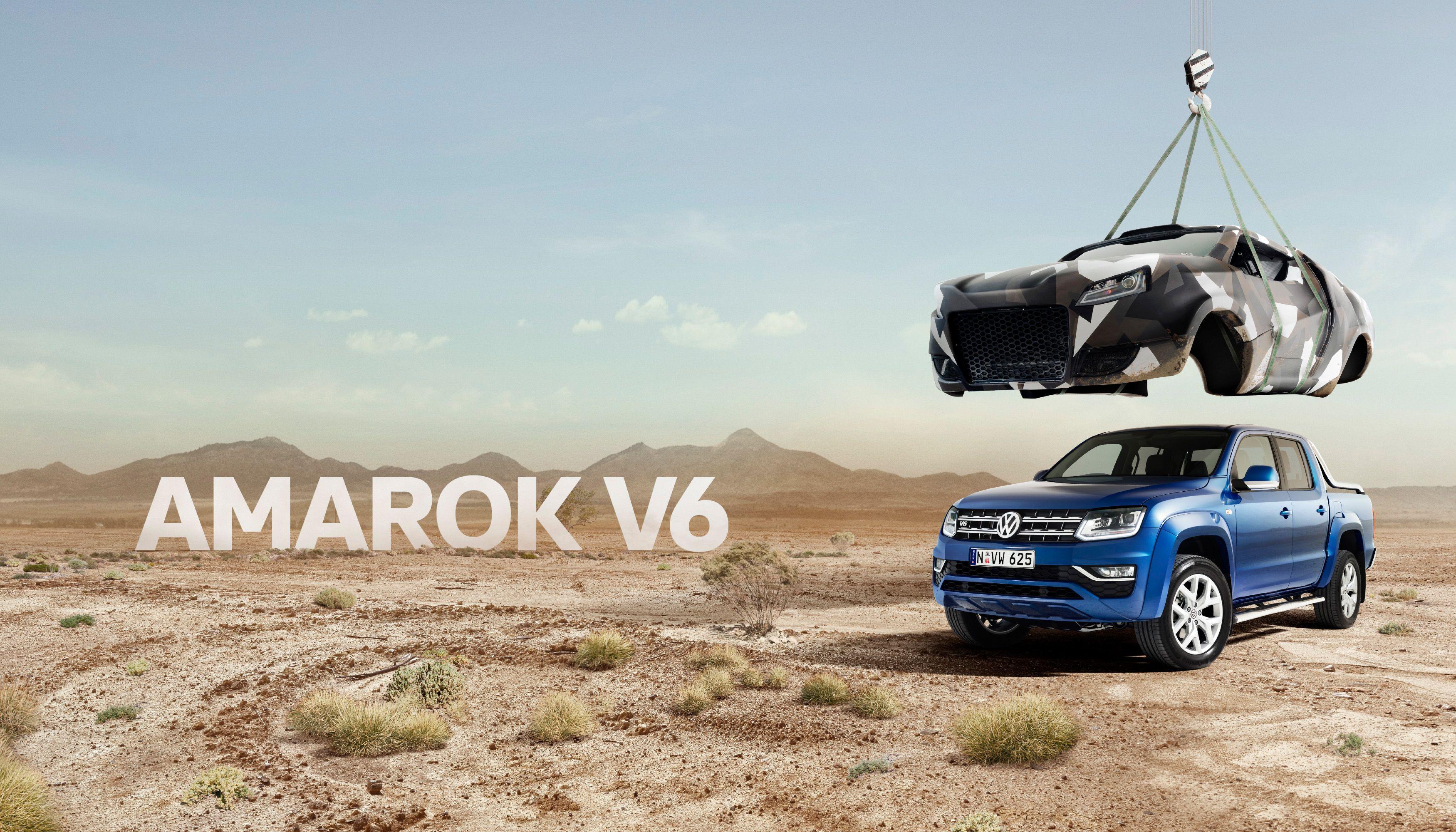Volkswagen Amarok Naked Ute review | CarsGuide