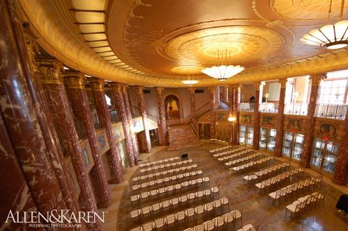 Audra James Severance Hall Wedding By Cleveland Photographers Allen Karen Photography Serving Akron Canton