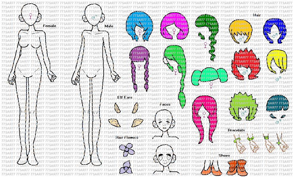 Deviantart More Like P2u Ms Paint Anime Adoptable Base By 77sar77 Anime Painting Deviantart