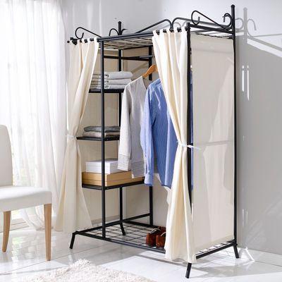 Cool Kleiderschrank Air Schwarz Beige