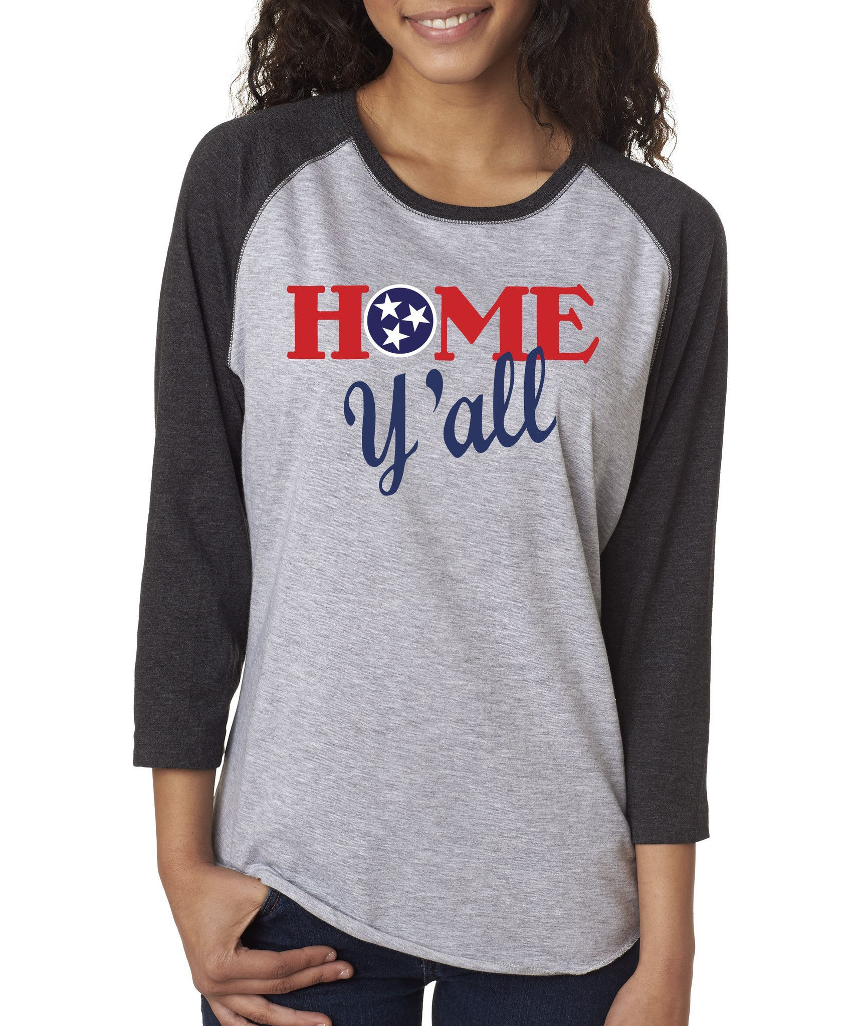 Home Y\'all Baseball Tee | Baseball tees and Custom design