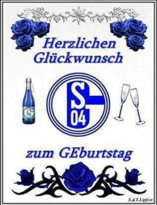 Pin Von Heiko Streib Auf Schalke 04 Fussball Geburtstag Schalke
