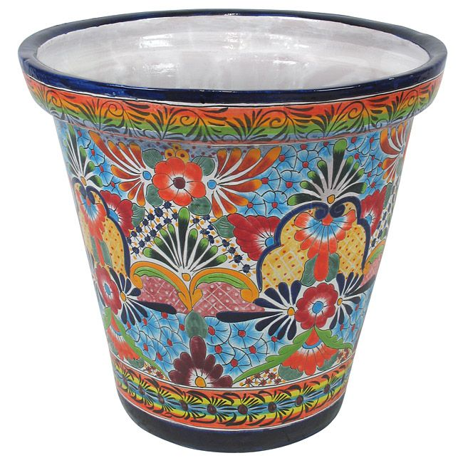 Mexican Planters Mexican Pottery Mexican Talavera Mexican Planter Talavera Pots Hanging Planter Mexican Pots Talavera Talavera Pottery