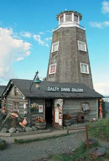 Salty Dawg in Homer....
