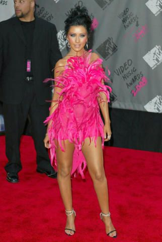 Αποτέλεσμα εικόνας για christina aguilera roberto cavalli pink dress