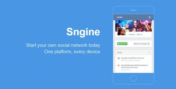 Sngine v2.0.4 The Ultimate Social Network Platform