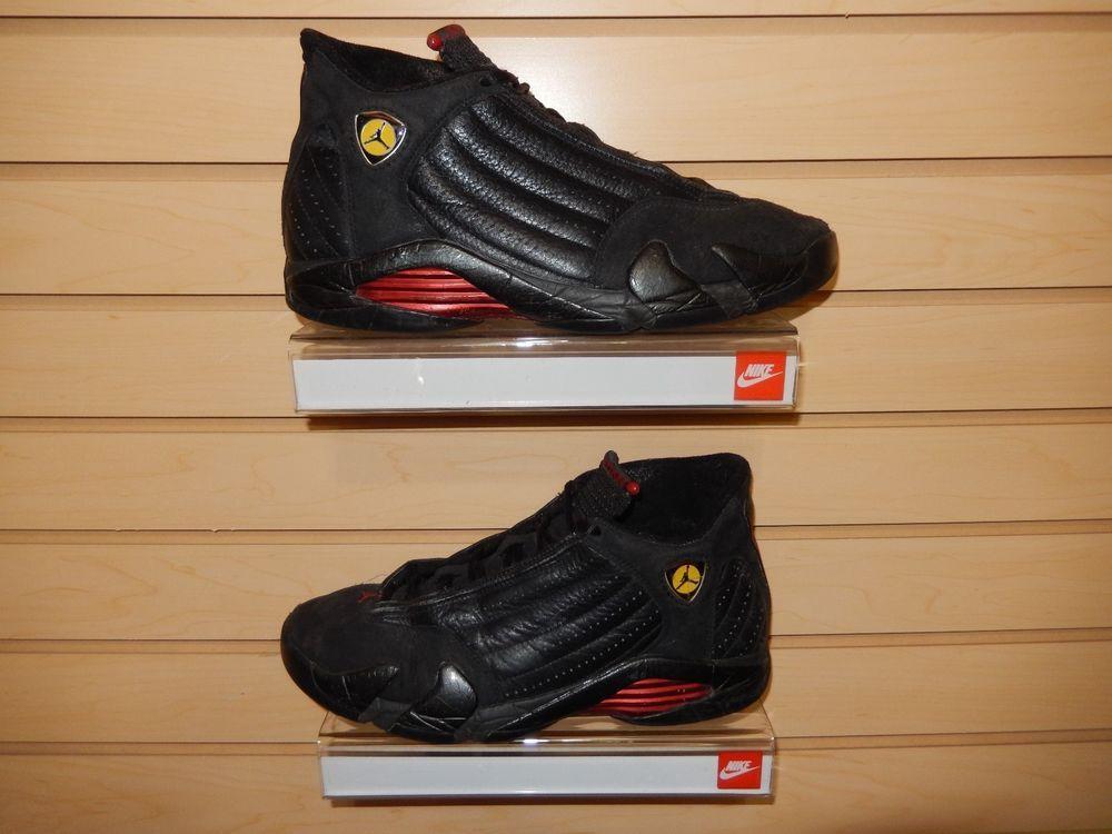 low priced 801c7 d7f10 Nike Air Jordan 14 XIV OG 9.5 1999 BEATERS Last Shot Black Red 136016 001  vtg  Nike  AthleticSneakers