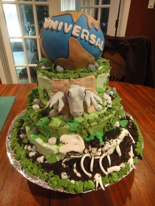 JURASSIC PARK JURASSIC WORLD CAKES Cake Dinosaur food and Birthdays