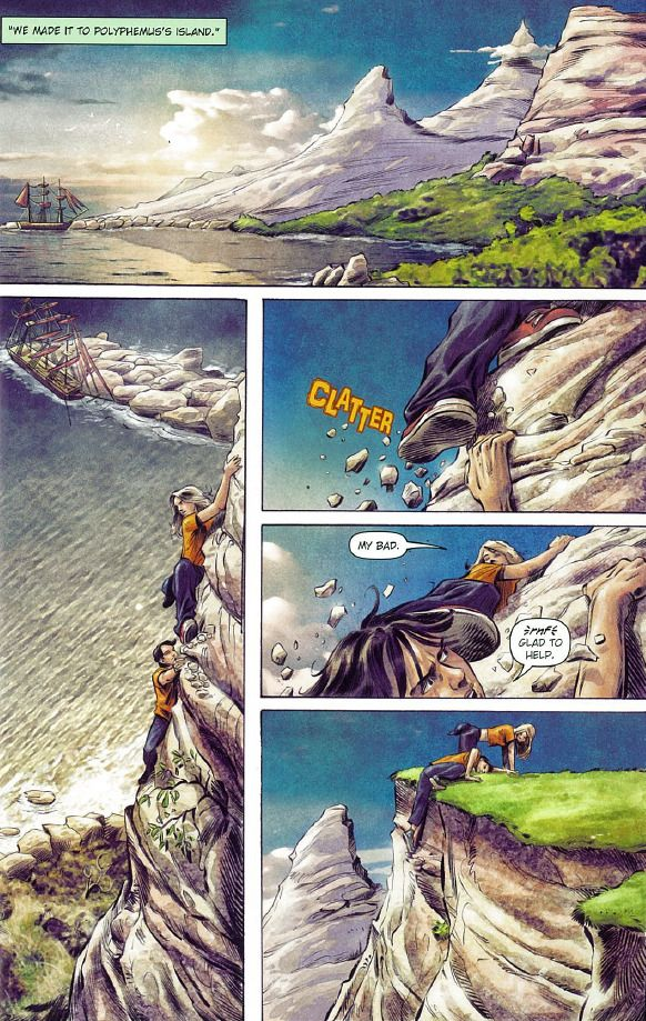 percy jackson and the olympians – The Chic Geek Speaks |Percy Jackson Graphic Novel Annabeth