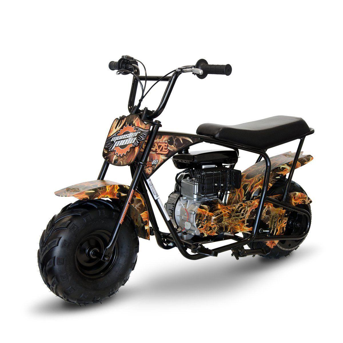 Monster Moto Legends Blaze 80cc Gas Mini Bike Mini Bike Dirt
