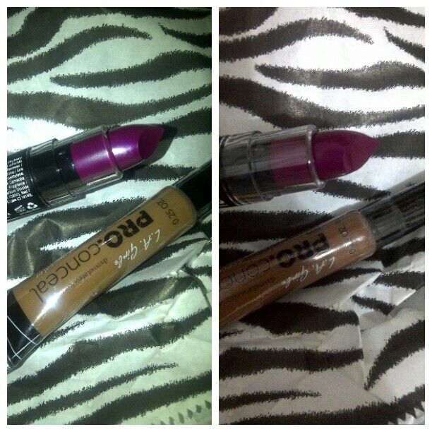 NYX Matte Aria & L.A. Girl Pro Concealer Toast