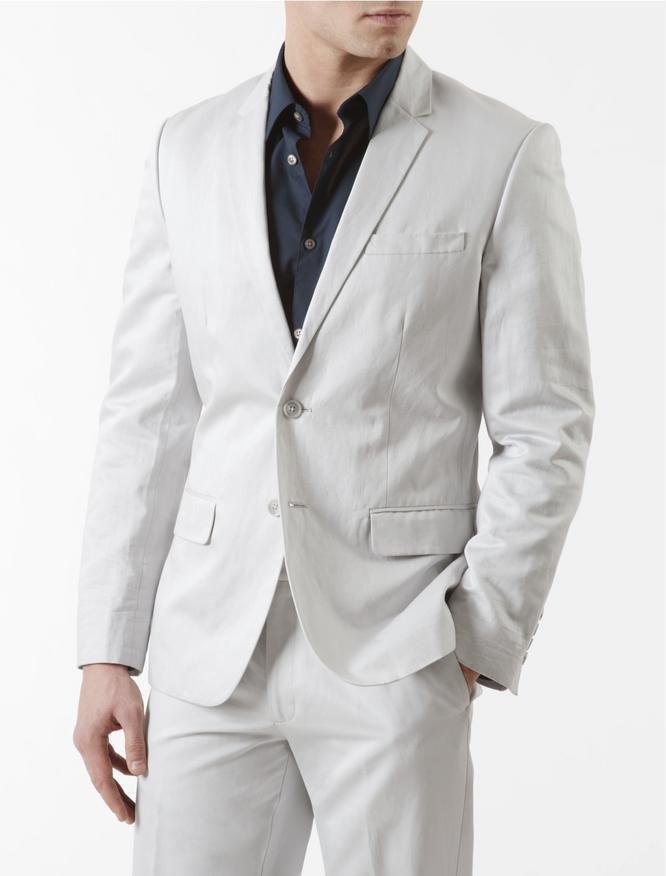 Suits-Summer-Wedding-Calvin-Klein-Suit.jpg 666×876 pixels | wedding ...