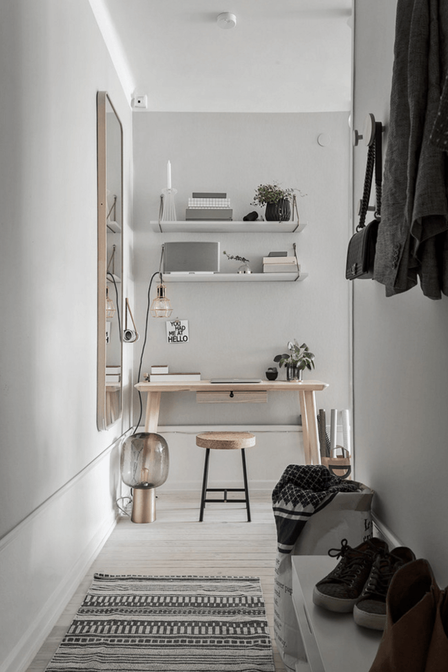 Scandinavian Interior Design Articles Home Office Decor, Small Home Office  Desk, Home Decor,