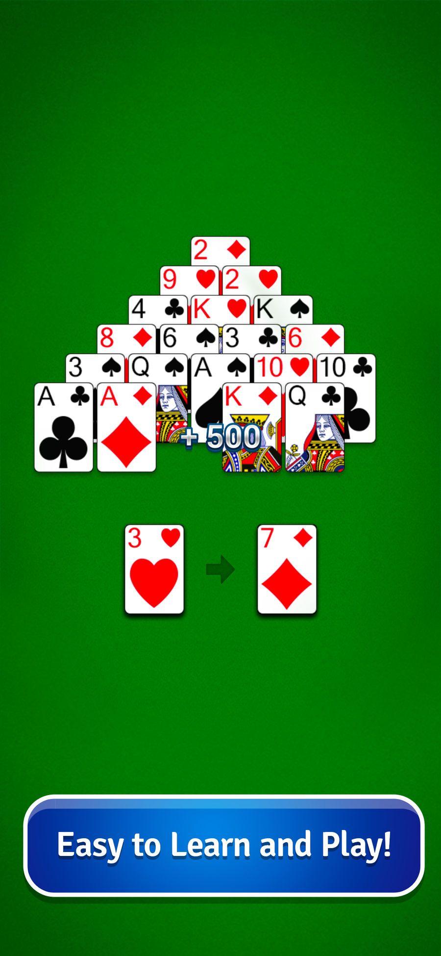 Pyramid Solitaire Card Game PuzzleGamesappsios