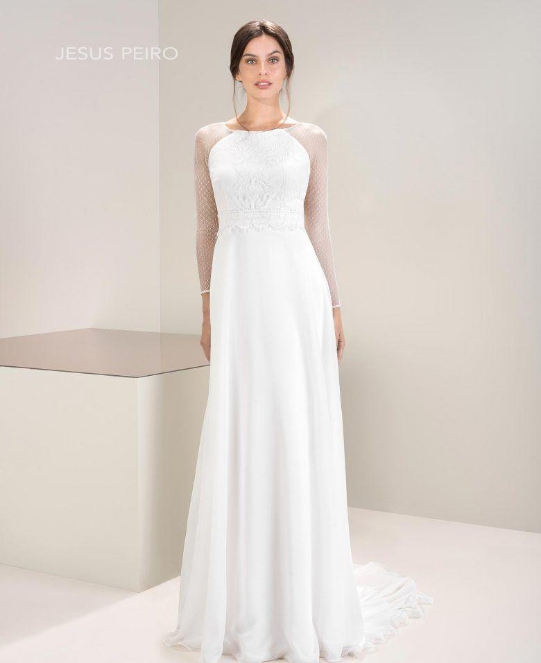 7026 | 2017 mirtilli lookbook | crepe wedding dress, wedding, dresses uk