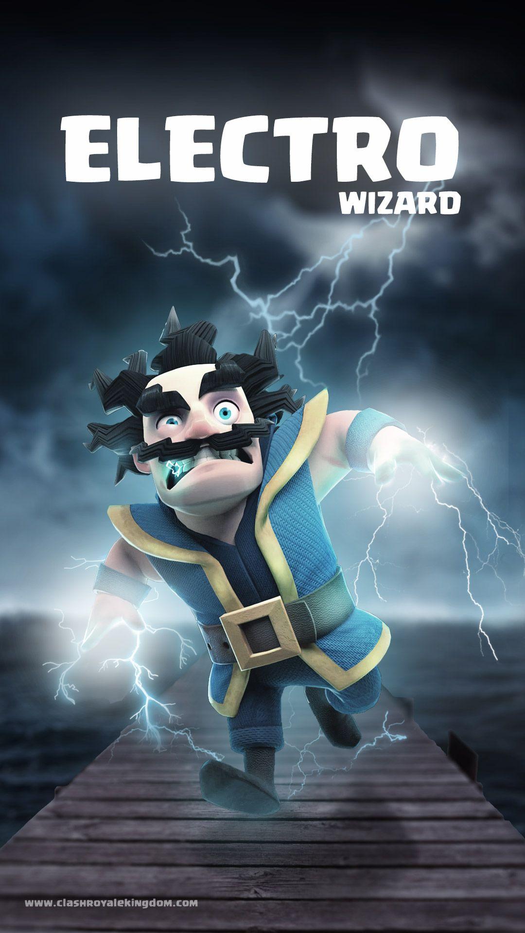 electro wizard clash royale wallpaper clash clans clash