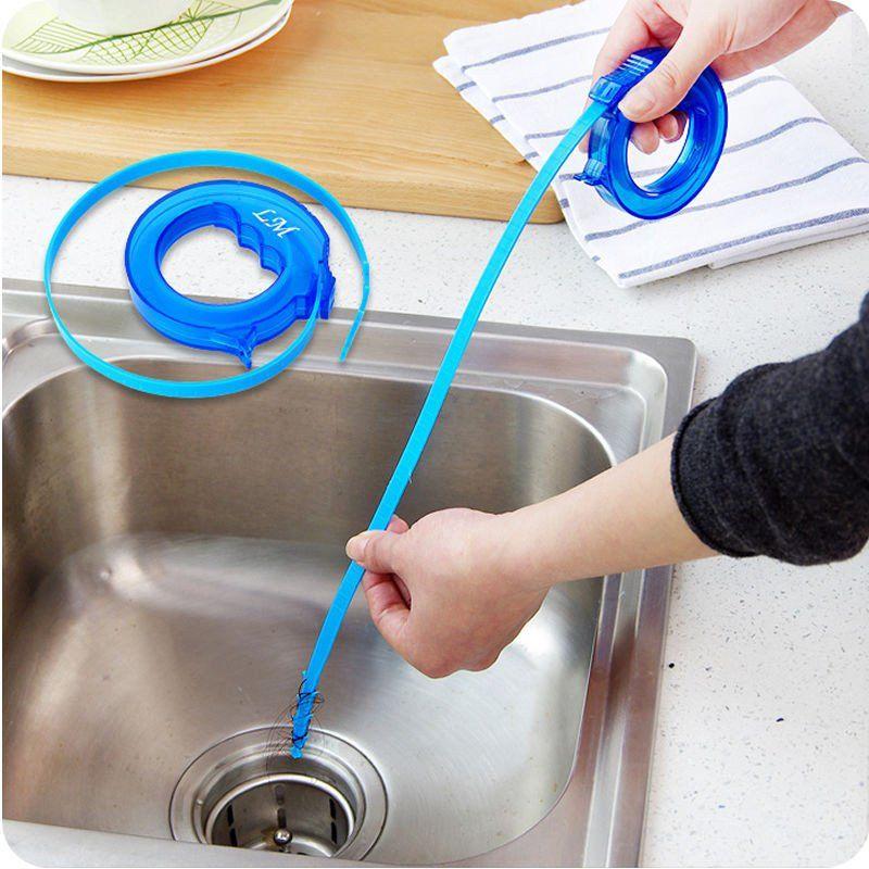 Kitchen Snake Sink Tub Pine Drain Cleaner Bathroom Shower Toliet