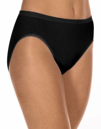 40053552e Barely There Flawless Fit Microfiber Hi-Cut Brief Panty Barely There.   5.86. nylon. Style 2455. Tagless. underwear closure