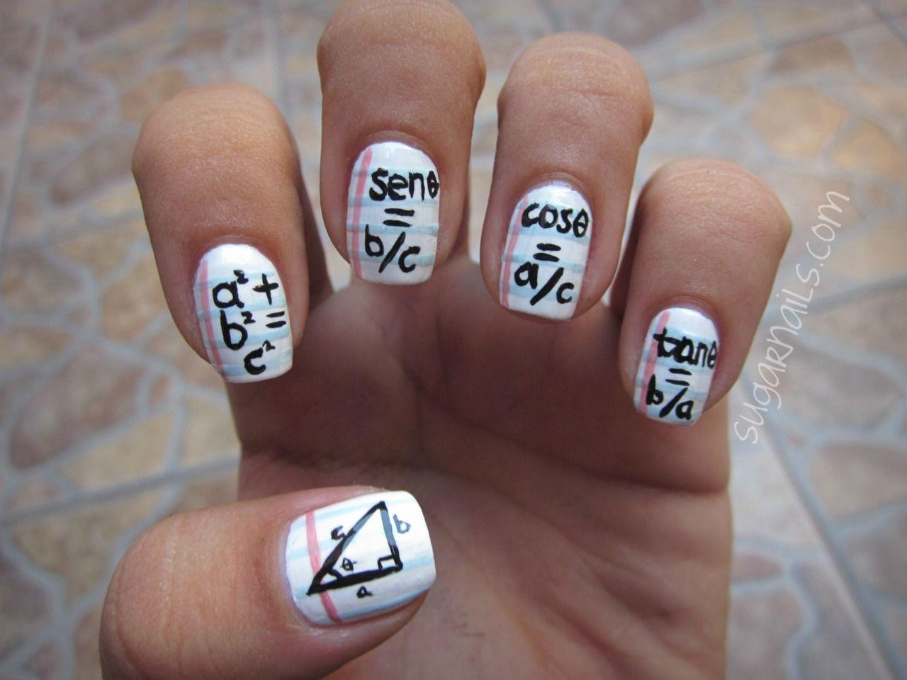 nerdy nails or creative cheating? hahah | Nails* | Pinterest ...
