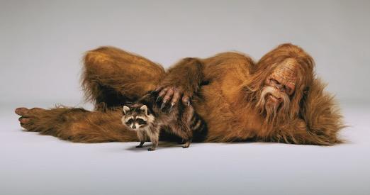 Sasquatch Bares All In Fierce New Photoshoot Bigfoot Art Bigfoot Photos Bigfoot
