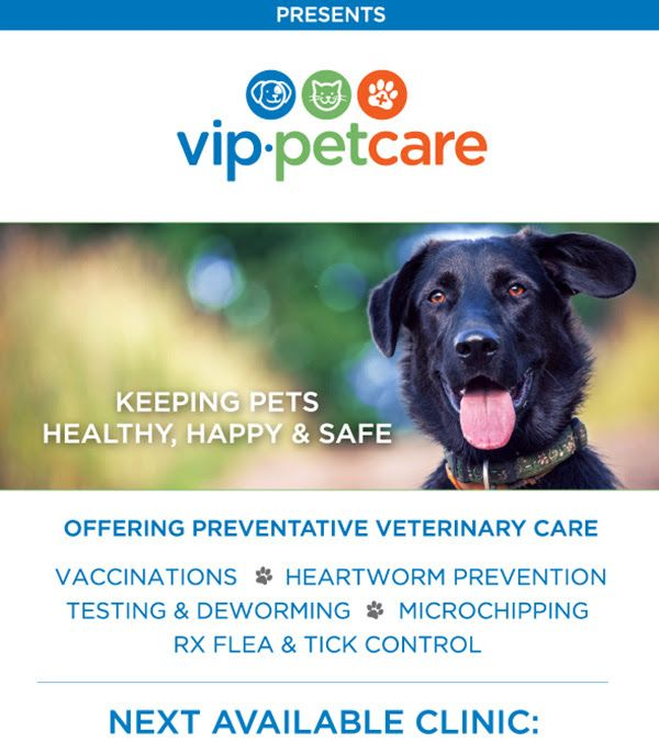 Pet Supplies Plus Hosts Vip Pet Care Community Clinics Pet