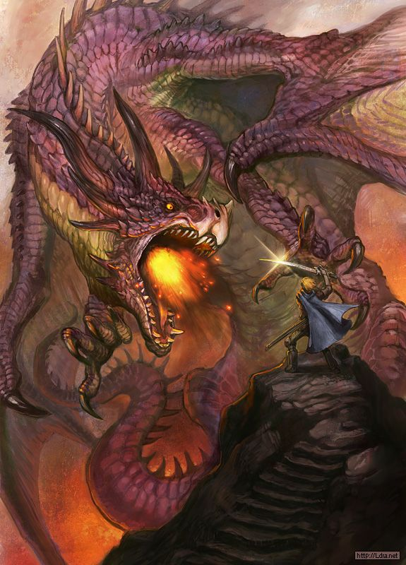 Dragon vs mage , G.River