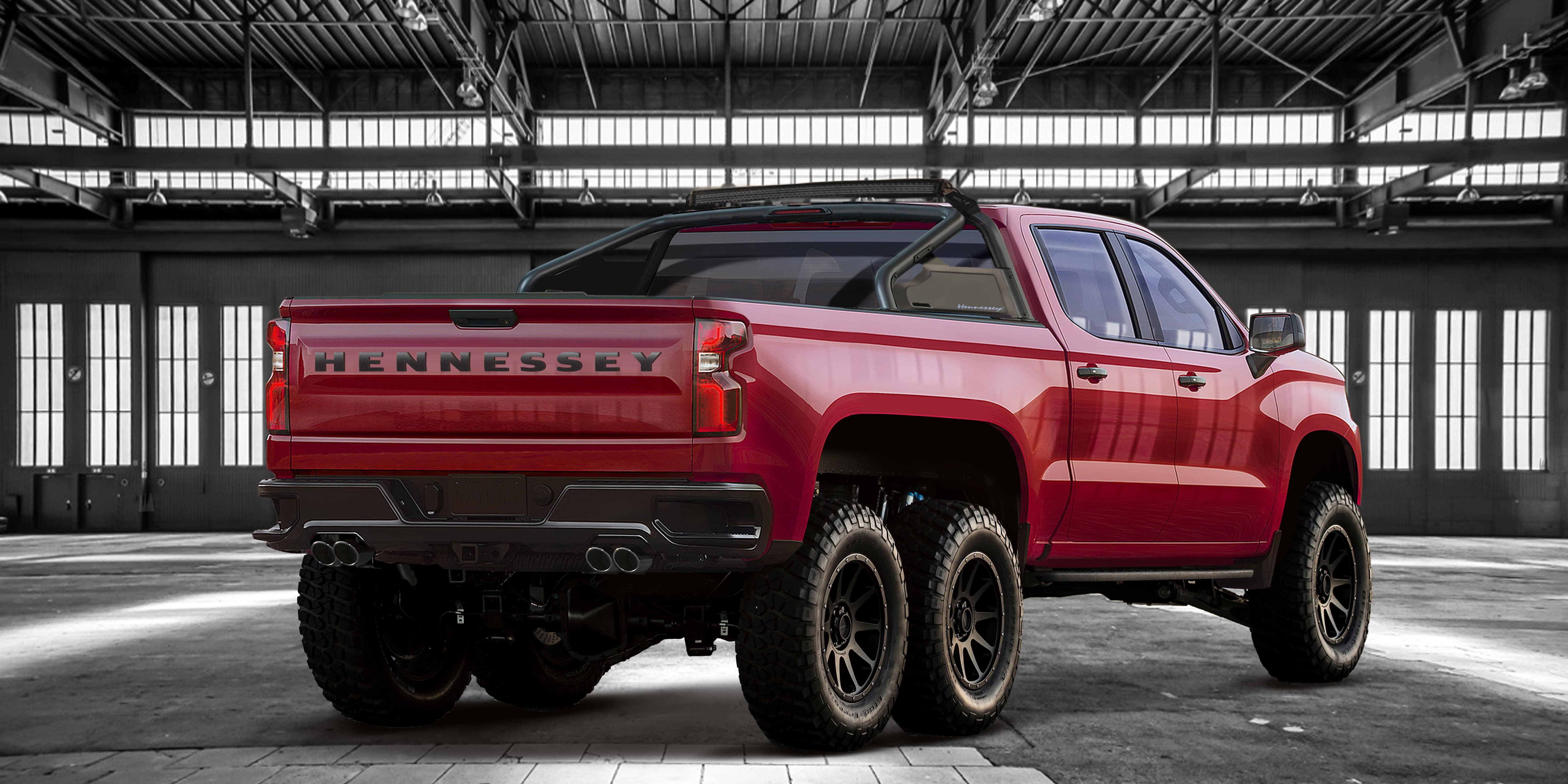The Hennessey Goliath 6 6 The Beast Est Of The Lots Chevrolet Silverado Pickup Trucks Hennessey
