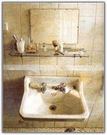 El Lavabo De Antonio Lopez.Lavabo Y Espejo 1967 Todas Las Pinturas De Antonio Lopez