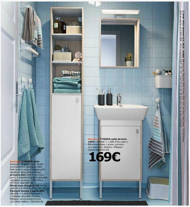 ikea salle de bain les nouveaut s du catalogue ikea salle de bains 2016 id maison ikea. Black Bedroom Furniture Sets. Home Design Ideas