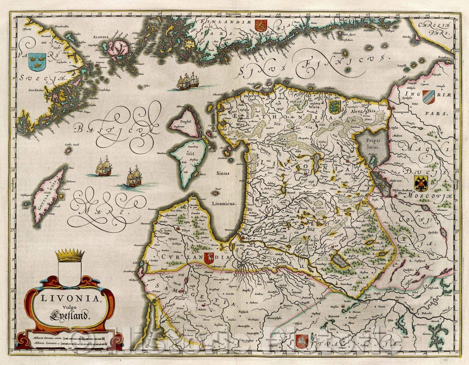 <p>Livonia, vulgo Lyefland., c. 1664</p>