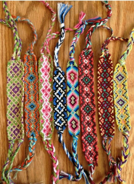 This Bracelets Are Difficult To Make But Really Beautiful And Ones Also Made With Strings