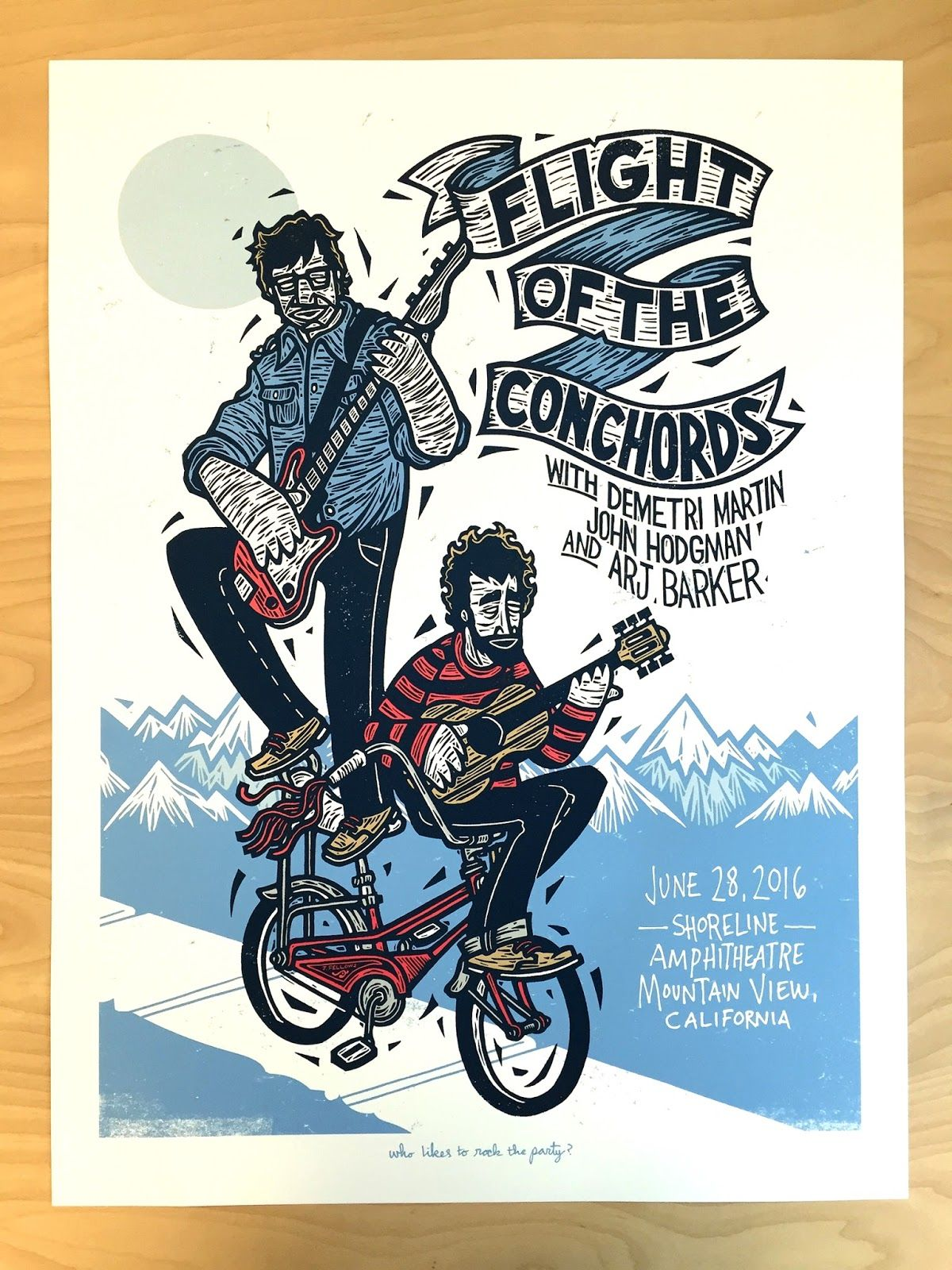 John-Fellows-Flight-of-the-Conchords-Mountain-View-Poster-2016.JPG 1,200×1,600 pixels