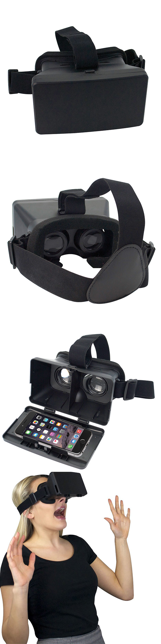 e817237c2542 iCandy Virtual Reality Goggles ○Watch 3D movies and play virtual reality  games on your smartphone