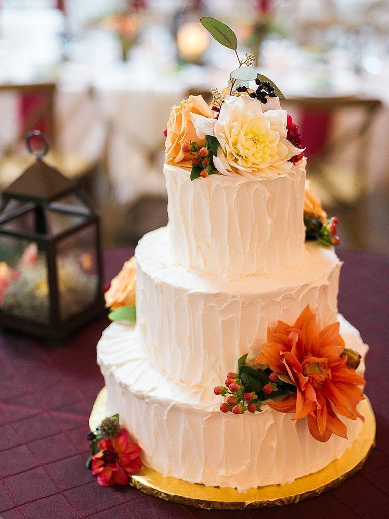 17 Fall Wedding Cakes Fall wedding cakes