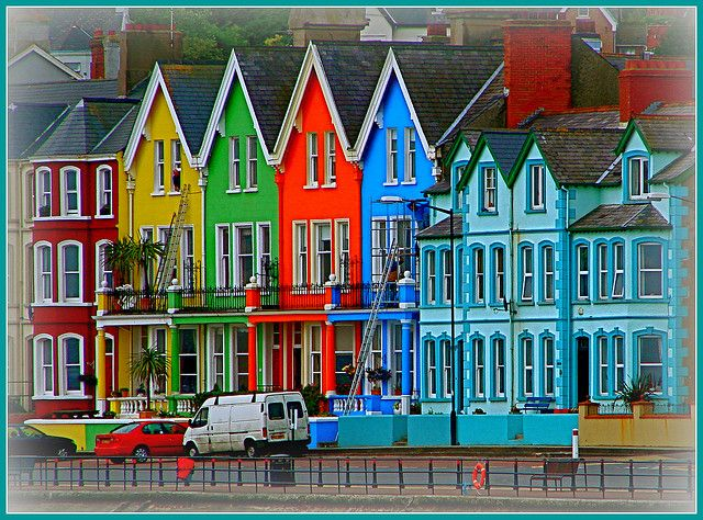 The Coloured House.Multi Coloured Houses Northern Ireland House Colors