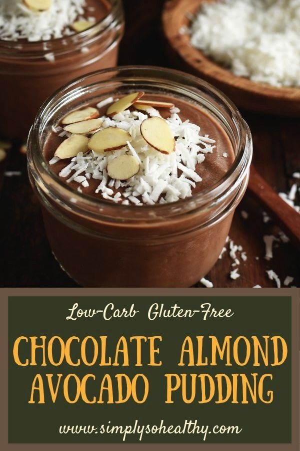 Almond Avocado Pudding Recipe - Simply So Healthy This recipe for has all of the flavors of an Almo