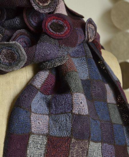 Sophie Digard / echape wool hybri (3870-MR/OPFLT) by Sophie Digard | petiteparis