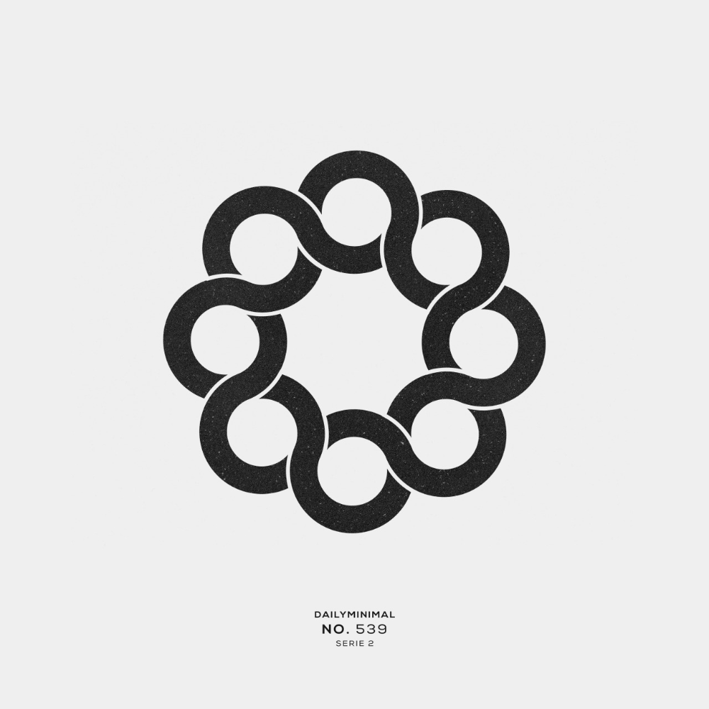 DAILY MINIMAL - No. 539 A new geometric design every day